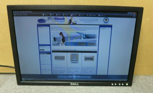 "Dell HR032 E198WFPF Black 19"" LCD TFT Widescreen Monitor VGA DVI No Stand"